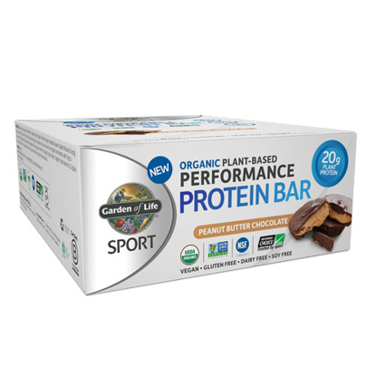 Picture of Sport Organic Performance Protein Bar (PB Choc.) 12ct, GoL