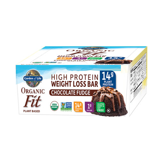 Picture of Organic Fit Weight Loss Bar (Choc. Fudge) 12ct by GoL