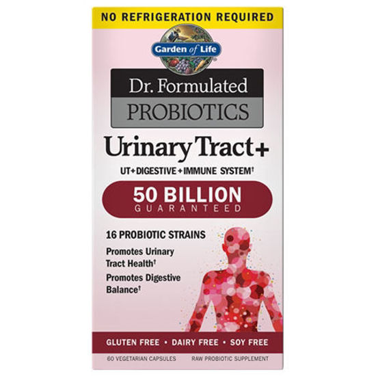Picture of Dr. Formulated Probiotics Urinary Tract SS 60 Caps by GoL