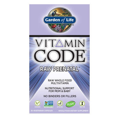 Picture of Vitamin Code Raw Prenatal 30 Caps by Garden of Life