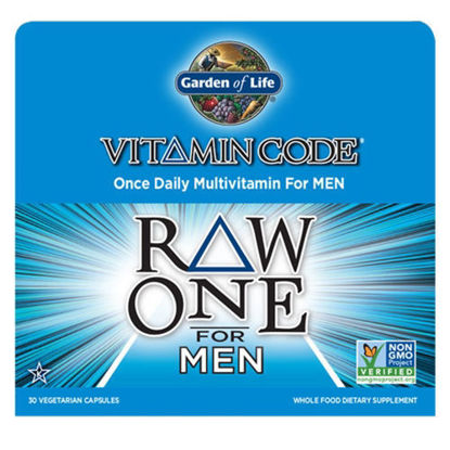Picture of Vitamin Code Raw One for Men 30 Caps by Garden of Life
