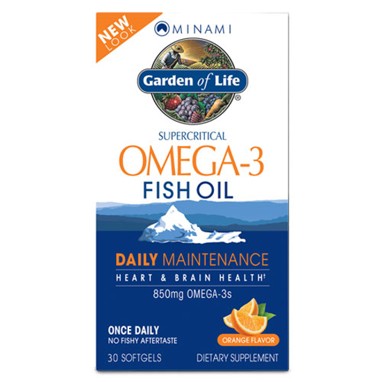 Picture of Minami Omega-3 Daily Maintenance 30 Softgels by GoL