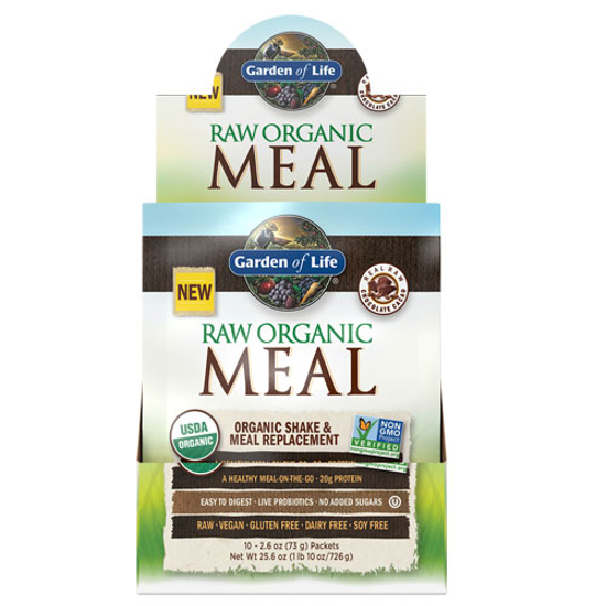 Picture of Raw Organic Meal (Chocolate) 10 ct. by Garden of Life