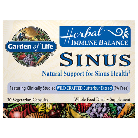 Picture of Herbal Immune Balance Sinus 30 Caps by Garden of Life