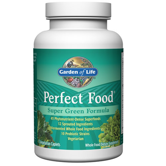 Picture of Perfect Food Super Green Formula 75 Caplets by GoL