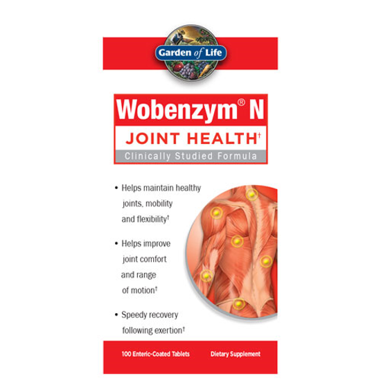 Picture of Wobenzym N 100 Tabs by Garden of Life