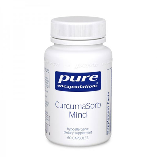 Picture of CurcumaSorb Mind 60's, Pure Encapsulations