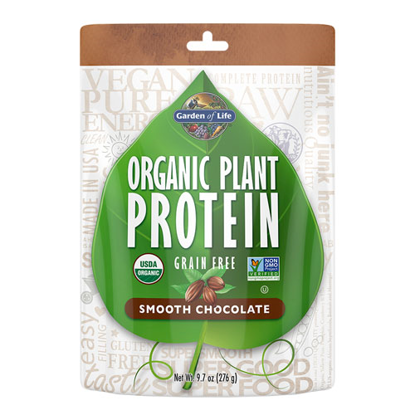 Picture of Organic Plant Protein (Chocolate) 276g by Garden of Life