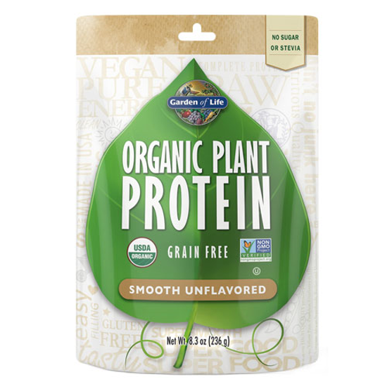 Picture of Organic Plant Protein (Unflavored) 226g by Garden of Life