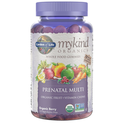 Picture of mykind Organics Prenatal Multi Gummy 120's by Garden of Life