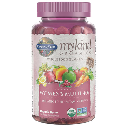 Picture of mykind Organics Women's 40+ Multi Gummies 120's by GoL
