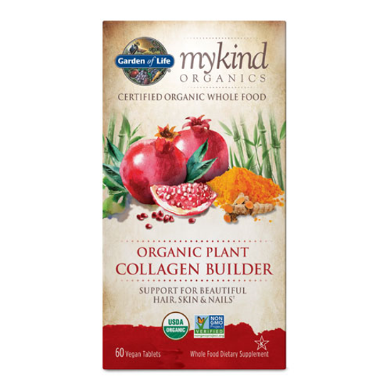 Picture of mykind Organics Plant Collagen Builder 60 Caps by GoL