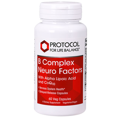 Picture of B Complex Neuro Factors 60 caps by Protocol