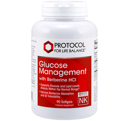 Picture of Glucose Management w/ Berberine HCl 90 softgels by Protocol