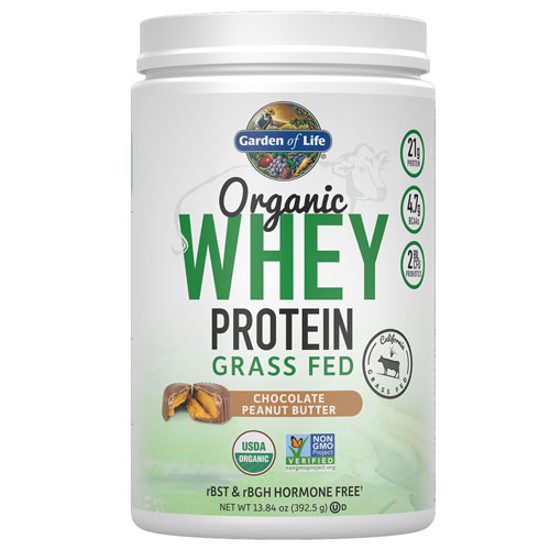Picture of Organic Grass Fed Whey (PB Chocolate) 392.5g by GoL