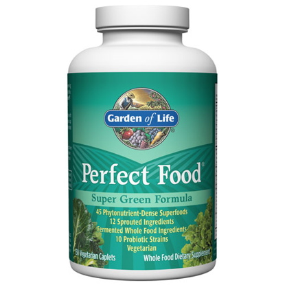 Picture of Perfect Food Super Green Formula 150 Caplets by GoL
