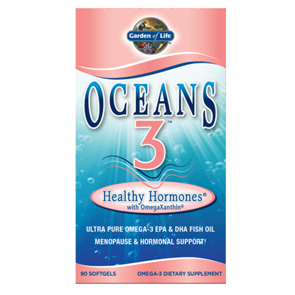Picture of Oceans 3 Healthy Hormone 90 Softgels by Garden of Life