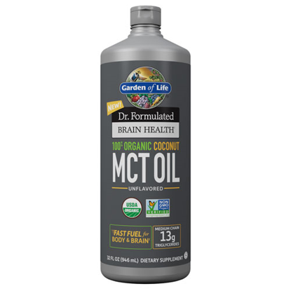 Picture of Dr. Formulated Brain Health Org. Coconut MCT Oil 32 oz., GoL