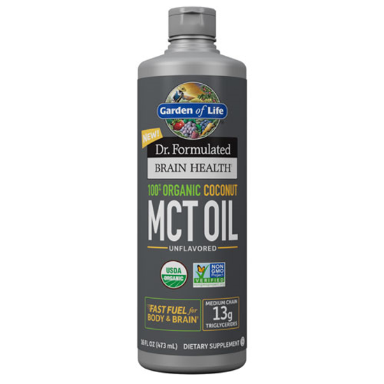 Picture of Dr. Formulated Brain Health Org. Coconut MCT Oil 16 oz., GoL