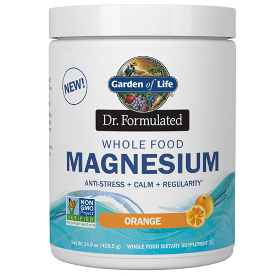 Picture of Dr. Formulated Magnesium (Orange) 419.5g by Garden of Life