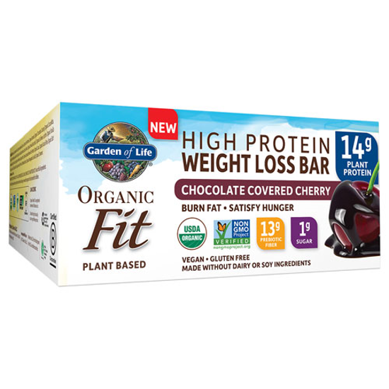 Picture of Organic Fit Weight Loss Bar (Choc. Cherry) 12ct by GoL