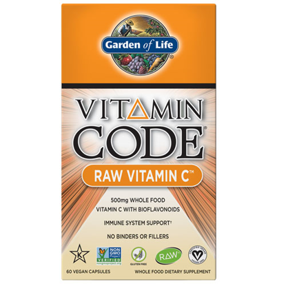 Picture of Vitamin Code Raw Vitamin C 60 Capsules by Garden of Life