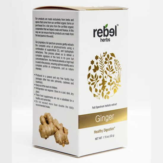Picture of Ginger Extract Powder 33gm by Rebel Herbs