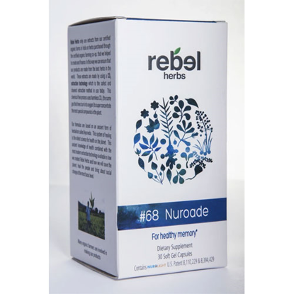 Picture of #68 Nuroade 30 caps by Rebel Herbs