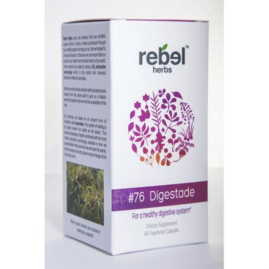 Picture of #76 Digestade 60 caps by Rebel Herbs