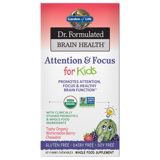 Picture of Dr. Formulated Brain Health Org. Attention/Focus (Kids)