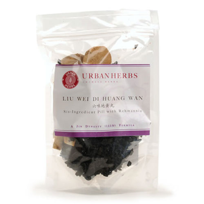 Picture of Liu Wei Di Huang Wan Whole Herb (181g) by Urban Herbs