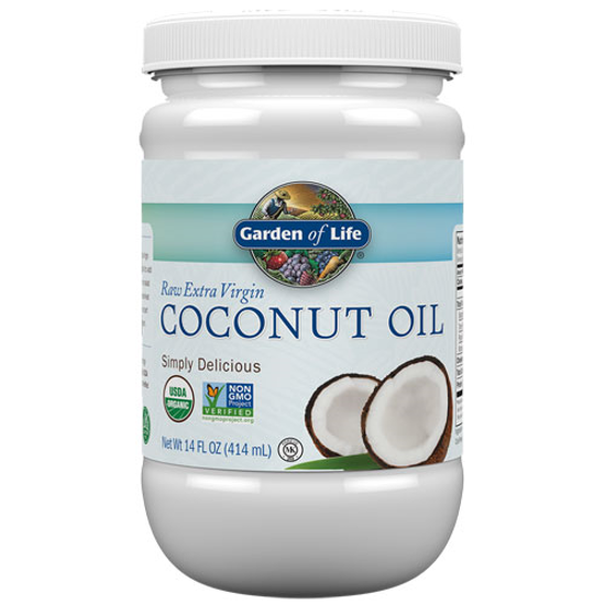 Picture of Organic Coconut Oil 14oz. by Garden of Life