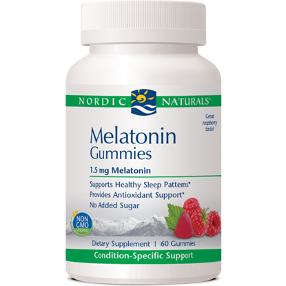 Picture of Melatonin Gummies 60ct, Nordic Naturals