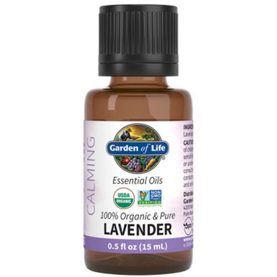 Picture of Organic Lavender Essential Oil 0.5 oz. by Garden of Life