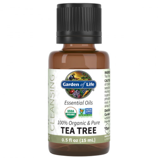 Picture of Organic Tea Tree Essential Oil 0.5 oz. by Garden of Life