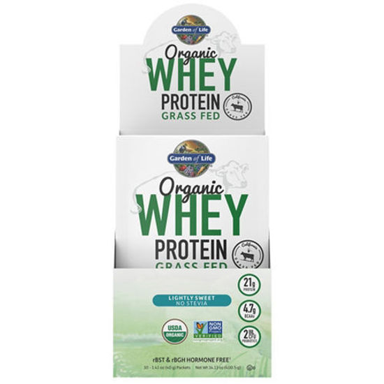 Picture of Organic Grass Fed Whey (Lightly Sweet) 10ct by GoL