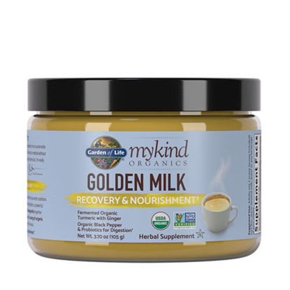 Picture of mykind Organics Golden Milk 107g by Garden of Life
