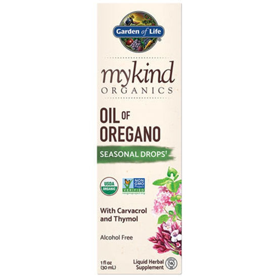 Picture of mykind Organics Oil of Oregano 1 oz. by Garden of Life
