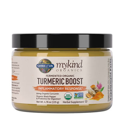 Picture of mykind Organics Turmeric Boost 137g by Garden of Life