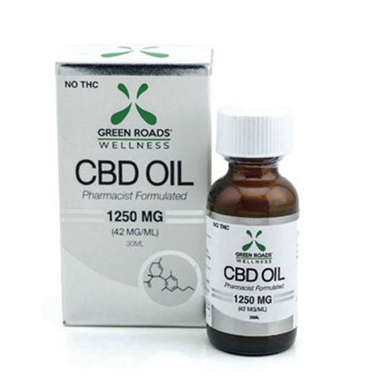 Picture of CBD Oil by Green Roads