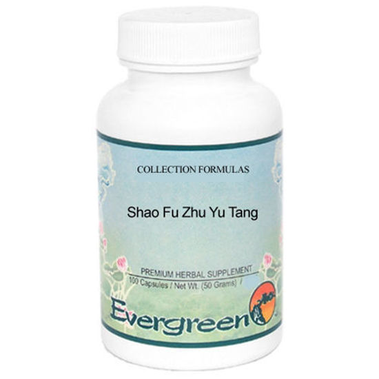 Picture of Shao Fu Zhu Yu Tang Evergreen Capsules 100's