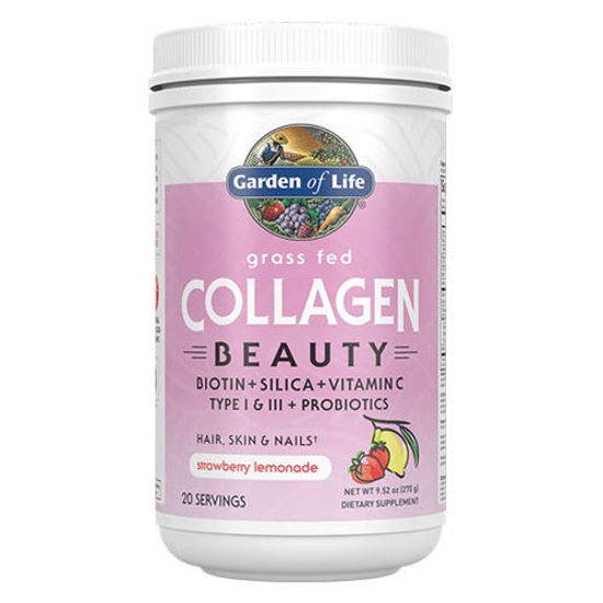 Picture of Grass Fed Collagen Beauty (Strawberry Lemonade) 270g by GoL