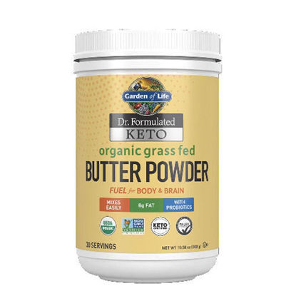 Picture of Dr. Formulated Keto Organic Grass Fed Butter Pwdr 300g, GoL