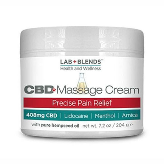 Picture of Lab+Blends CBD Massage Products by Biotone