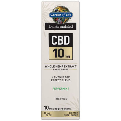 Picture of Dr. Formulated CBD Oil 10mg (Peppermint) 1 oz. Drops by GoL