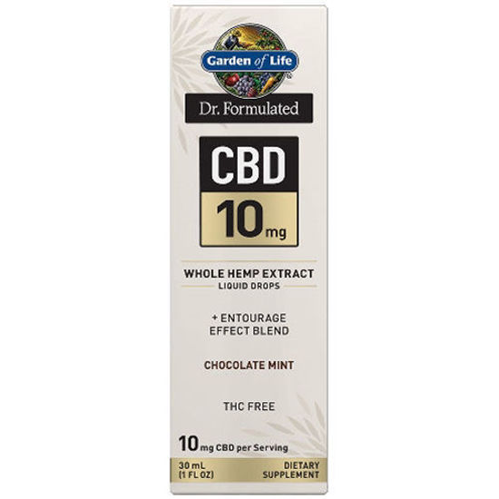 Picture of Dr. Formulated CBD Oil 10mg (Choc. Mint) 1 oz. Drops by GoL