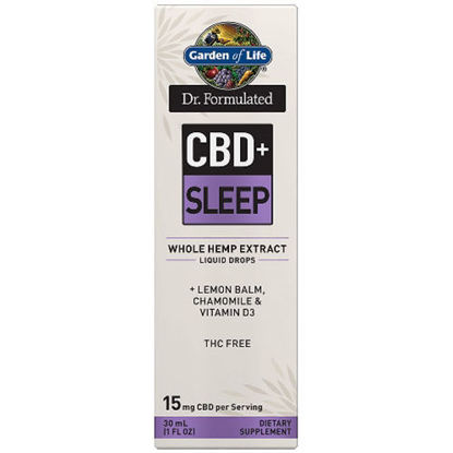 Picture of Dr. Formulated CBD+ Sleep 15mg, 1 oz. Drops by GoL