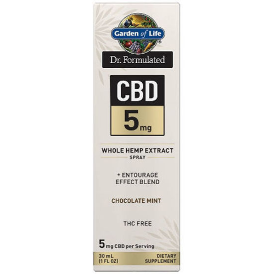 Picture of Dr. Formulated CBD Oil 5mg (Choc. Mint) 1 oz. Spray by GoL