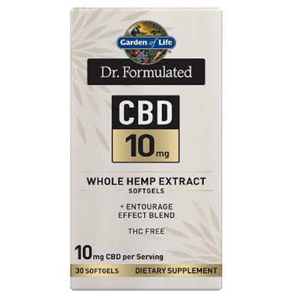 Picture of Dr. Formulated CBD Softgels (10mg) 30ct by Garden of Life