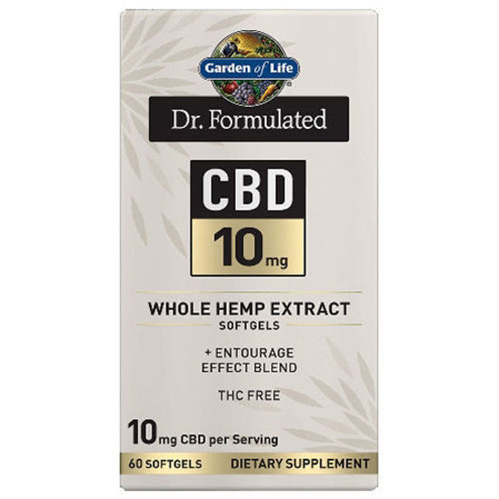Picture of Dr. Formulated CBD Softgels (10mg) 60ct by Garden of Life